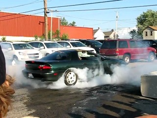 4th generation camaro burnout